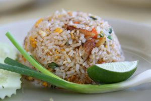 Fried rice lunch at Riverview