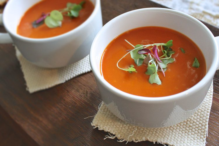 Tomato Soup at Riverview Seniors Residence